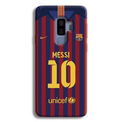 Messi (FC Barcelona) Jersey Samsung Galaxy S9 Plus Case