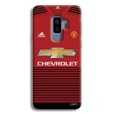 Manchester United Jersey Samsung Galaxy S9 Plus Case