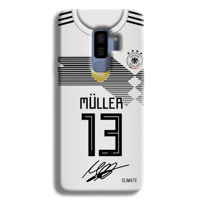 Muller Jersey Samsung Galaxy S9 Plus Case