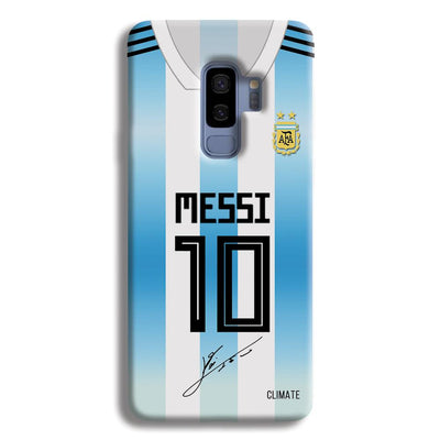 Messi Jersey Samsung Galaxy S9 Plus Case