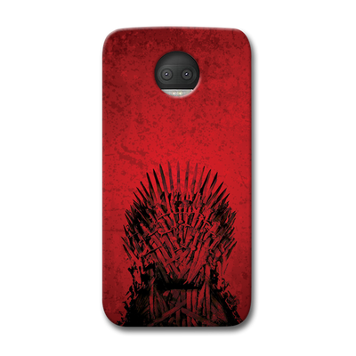 Red Hot Iron Thrones Moto G5s Plus Case
