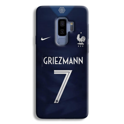 Griezmann France Jersey Samsung Galaxy S9 Plus Case