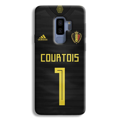 Thibaut Courtois of Club Jersy Samsung Galaxy S9 Plus Case