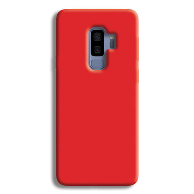 Bright Red Samsung Galaxy S9 Plus Case