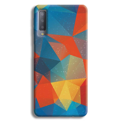 Mint Color Tiles Samsung Galaxy A7 Case