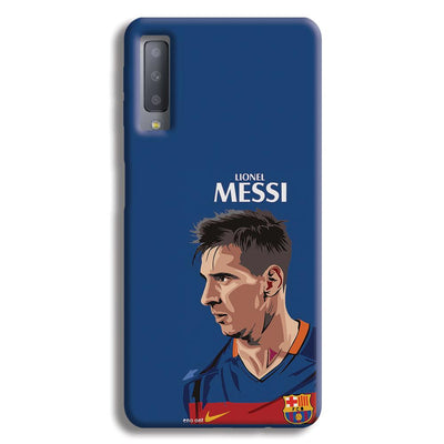 Messi Blue Samsung Galaxy A7 Case