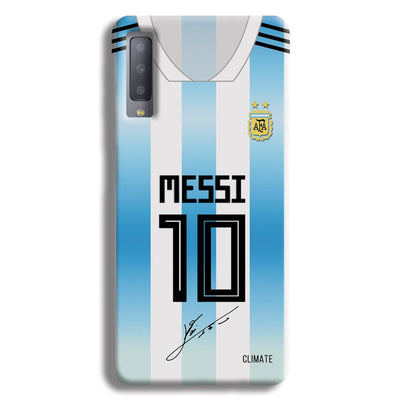 Messi Jersey Samsung Galaxy A7 Case