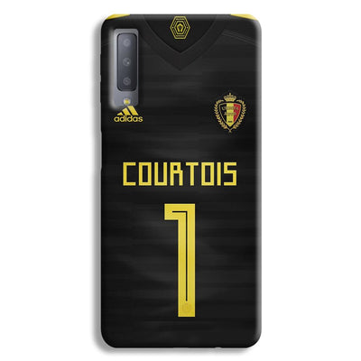 Thibaut Courtois of Club Jersy Samsung Galaxy A7 Case