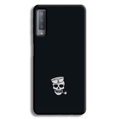 Smoking Skull Samsung Galaxy A7 Case