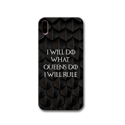 Daenerys Quotes Apple iPhone X Case