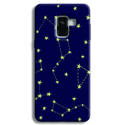 Constellation Blue Samsung Galaxy A8 Plus Case