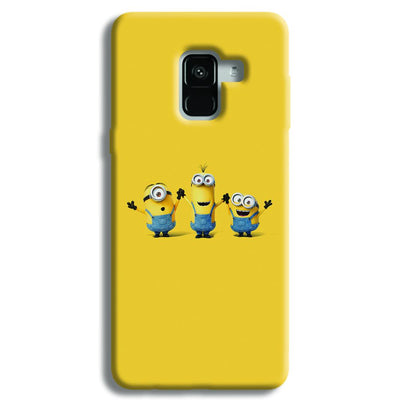 Three Minions Samsung Galaxy A8 Plus Case