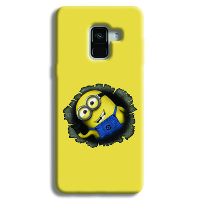 Laughing Minion Samsung Galaxy A8 Plus Case