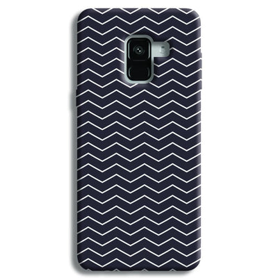 Chevron Pattern Samsung Galaxy A8 Plus Case