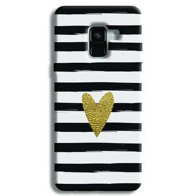 Bling Heart Samsung Galaxy A8 Plus Case