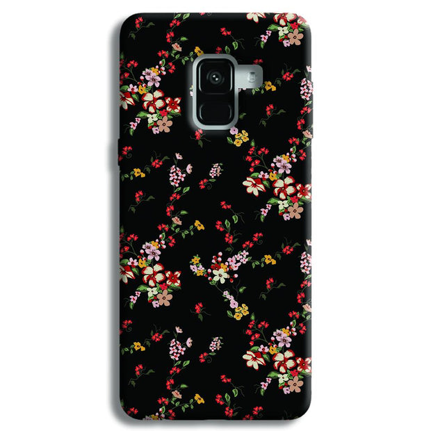 Fresh Flower Samsung Galaxy A8 Plus Case