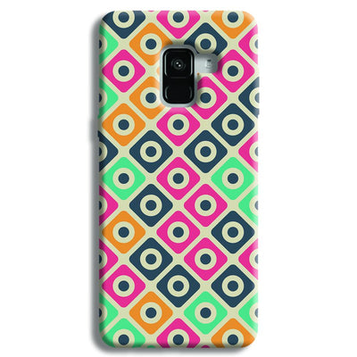 Shapes Pattern Samsung Galaxy A8 Plus Case