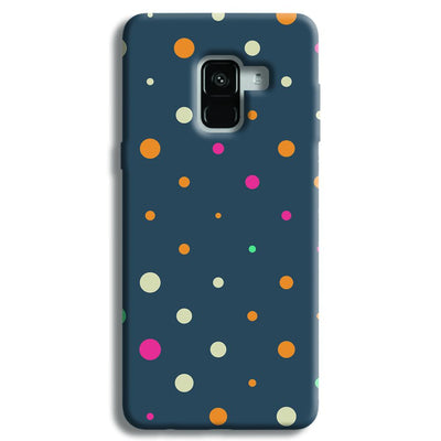 Polka Dot Pattern Samsung Galaxy A8 Plus Case