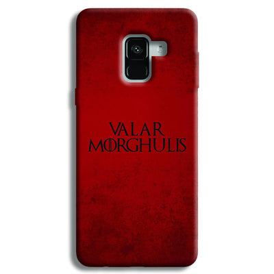 VALAR MORGHULIS Samsung Galaxy A8 Plus Case