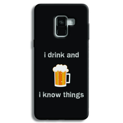 I Drink Samsung Galaxy A8 Plus Case