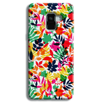 Wild Flora Samsung Galaxy A8 Plus Case