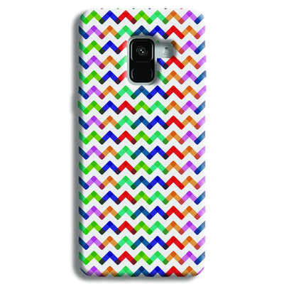Colors Chevron Samsung Galaxy A8 Plus Case