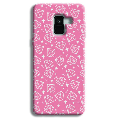 Diomonds Pattern Samsung Galaxy A8 Plus Case