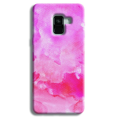 Pink Resonance  Samsung Galaxy A8 Plus Case