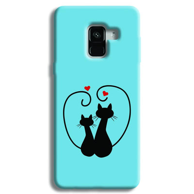 Cat Love Samsung Galaxy A8 Plus Case