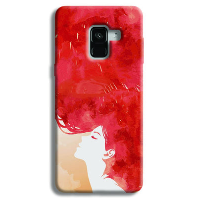 Red Cause Samsung Galaxy A8 Plus Case