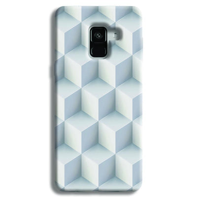 3D Cubes Samsung Galaxy A8 Plus Case
