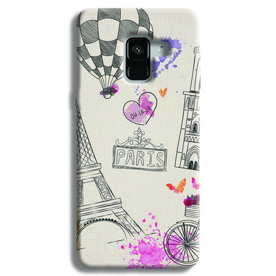 Paris Samsung Galaxy A8 Plus Case