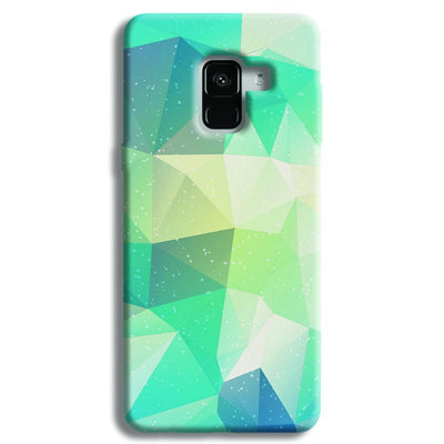 Tiles Mint Samsung Galaxy A8 Plus Case