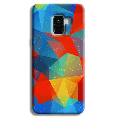 Mint Color Tiles Samsung Galaxy A8 Plus Case