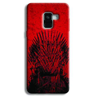 Red Hot Iron Thrones Samsung Galaxy A8 Plus Case