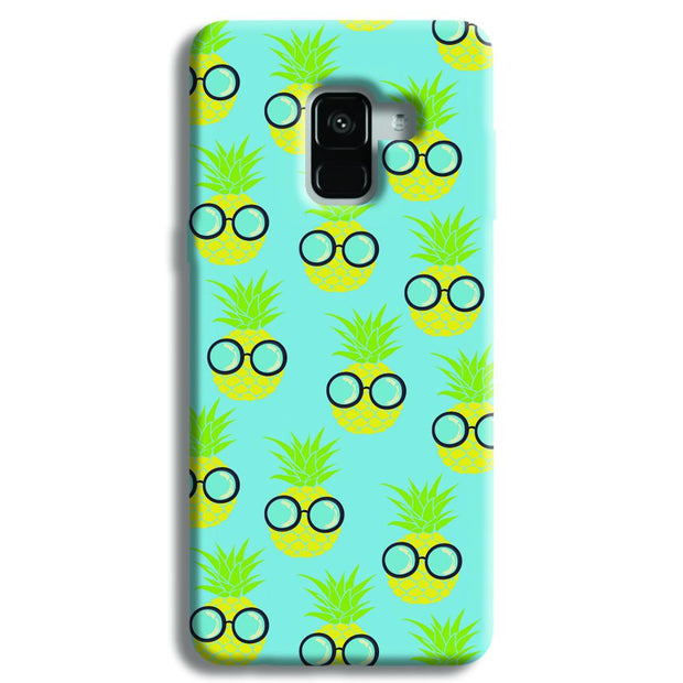 Cool Pineapple Samsung Galaxy A8 Plus Case