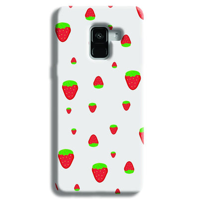 Strawberry Samsung Galaxy A8 Plus Case