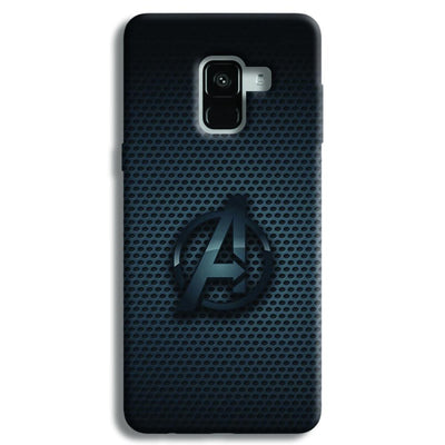 Avenger Grey Samsung Galaxy A8 Plus Case