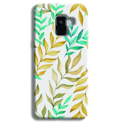 Tropical leaves  Samsung Galaxy A8 Plus Case