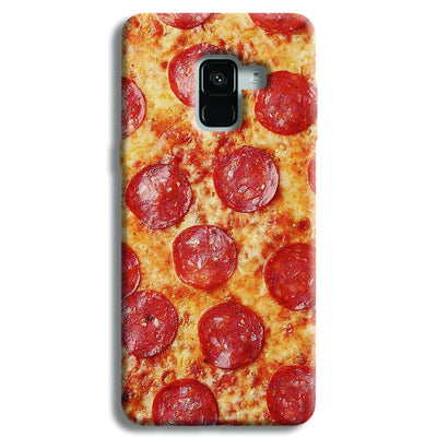 Pepperoni Pizza Samsung Galaxy A8 Plus Case