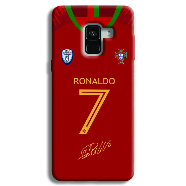 Ronaldo Jersy Samsung Galaxy A8 Plus Case