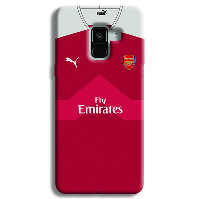 Arsenal F.C. Jersey Samsung Galaxy A8 Plus Case