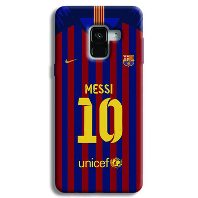 Messi (FC Barcelona) Jersey Samsung Galaxy A8 Plus Case