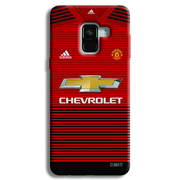 Manchester United Jersey Samsung Galaxy A8 Plus Case
