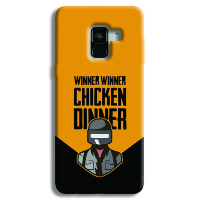 Pubg Chicken Dinner Samsung Galaxy A8 Plus Case