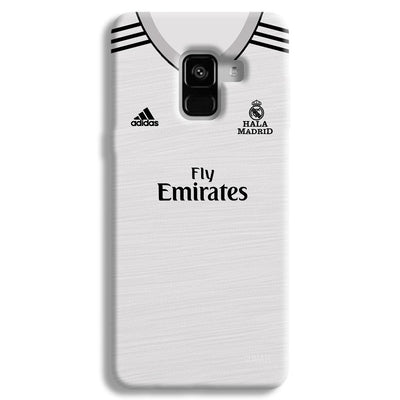Real Madrid Home Samsung Galaxy A8 Plus Case