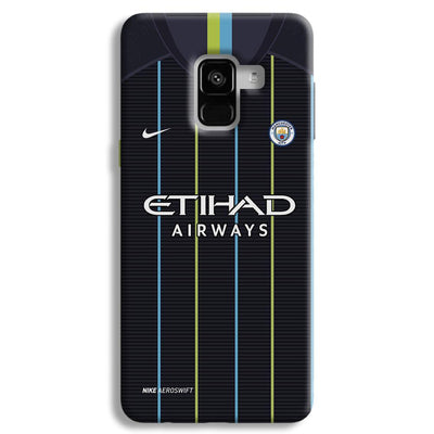 Manchester City Away Samsung Galaxy A8 Plus Case