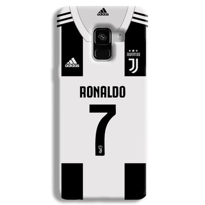Ronaldo Juventus Home Samsung Galaxy A8 Plus Case