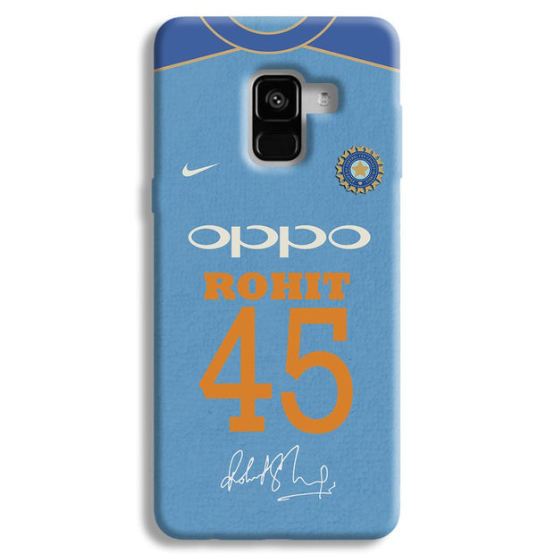 Rohit Sharma Jersey Samsung Galaxy A8 Plus Case