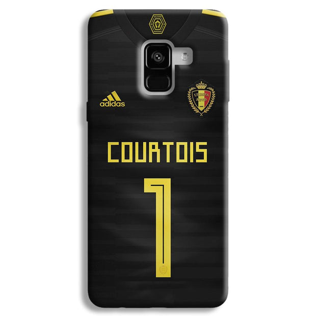 Thibaut Courtois of Club Jersy Samsung Galaxy A8 Plus Case